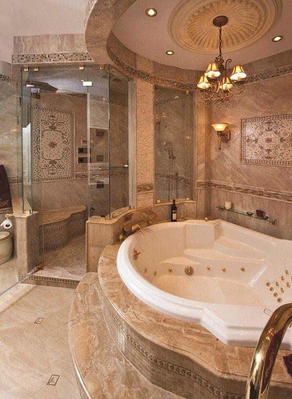 Épinglé par Dony sur jacousi | Pinterest | Baies, Salles de bains de ...