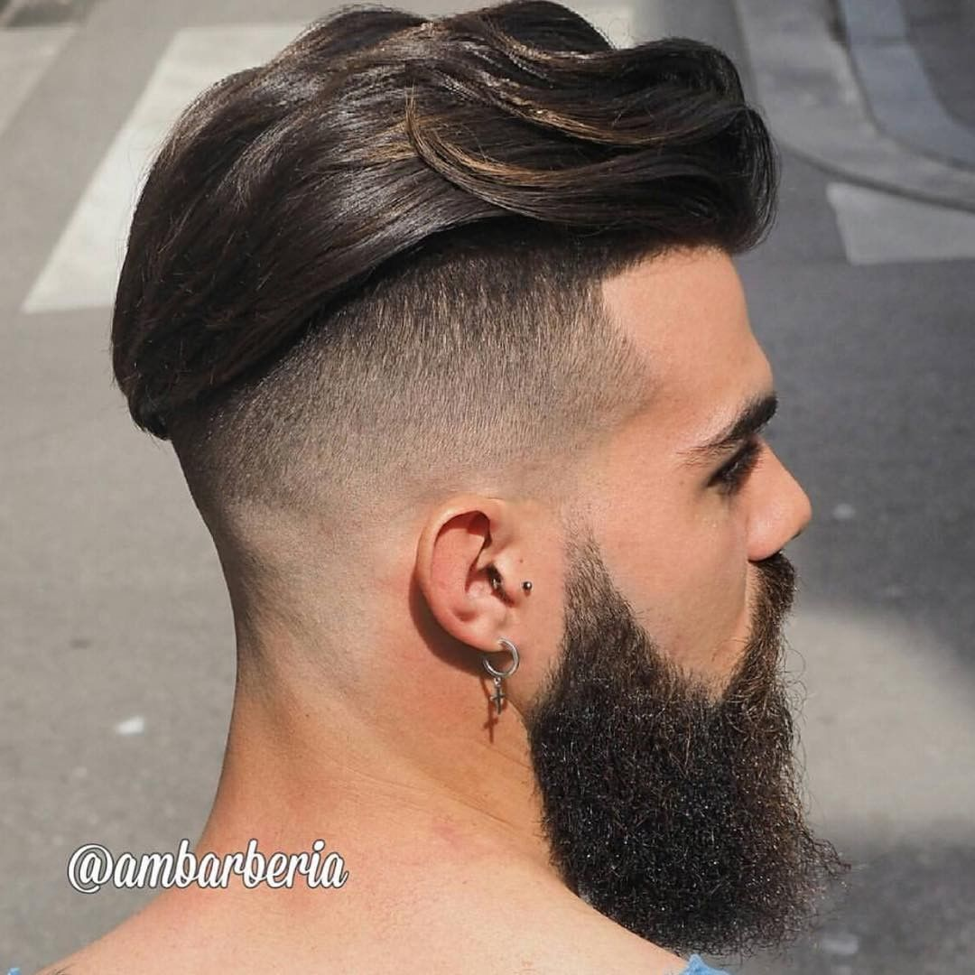 Oblong face haircut men instagram  mens beard and hairstyles  bärte  pinterest
