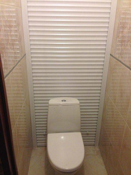Рольставни в туалет: виды, способы установки и реальные ...