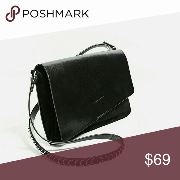 Zara Black Leather Crossbody Bag Authentic Zara Leather Crossbody Bag. New  with tags and comes in it s original dustbag. Zara Bags Crossbody Bags 09177c881b