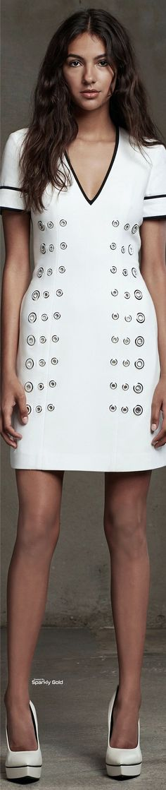 @roressclothes closet ideas #women fashion outfit #clothing style apparel white dress
