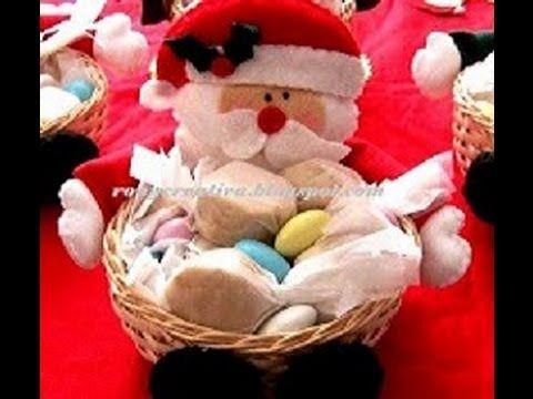 navidad como hacer un hermoso bombonero sombrero dulcero para navidad a