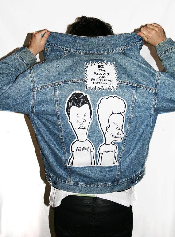 8239412e613 Beavis and Butthead Denim Jacket