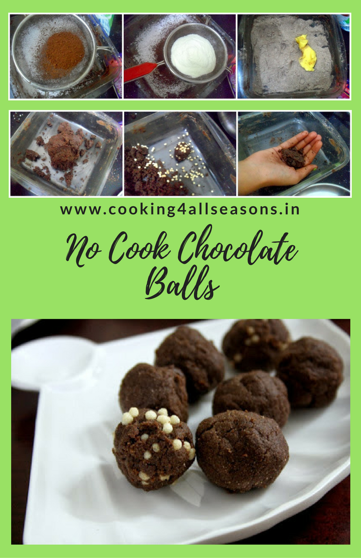 Chocolates balls cooking without fire recipe easy cooking chocolates balls cooking without fire forumfinder Choice Image