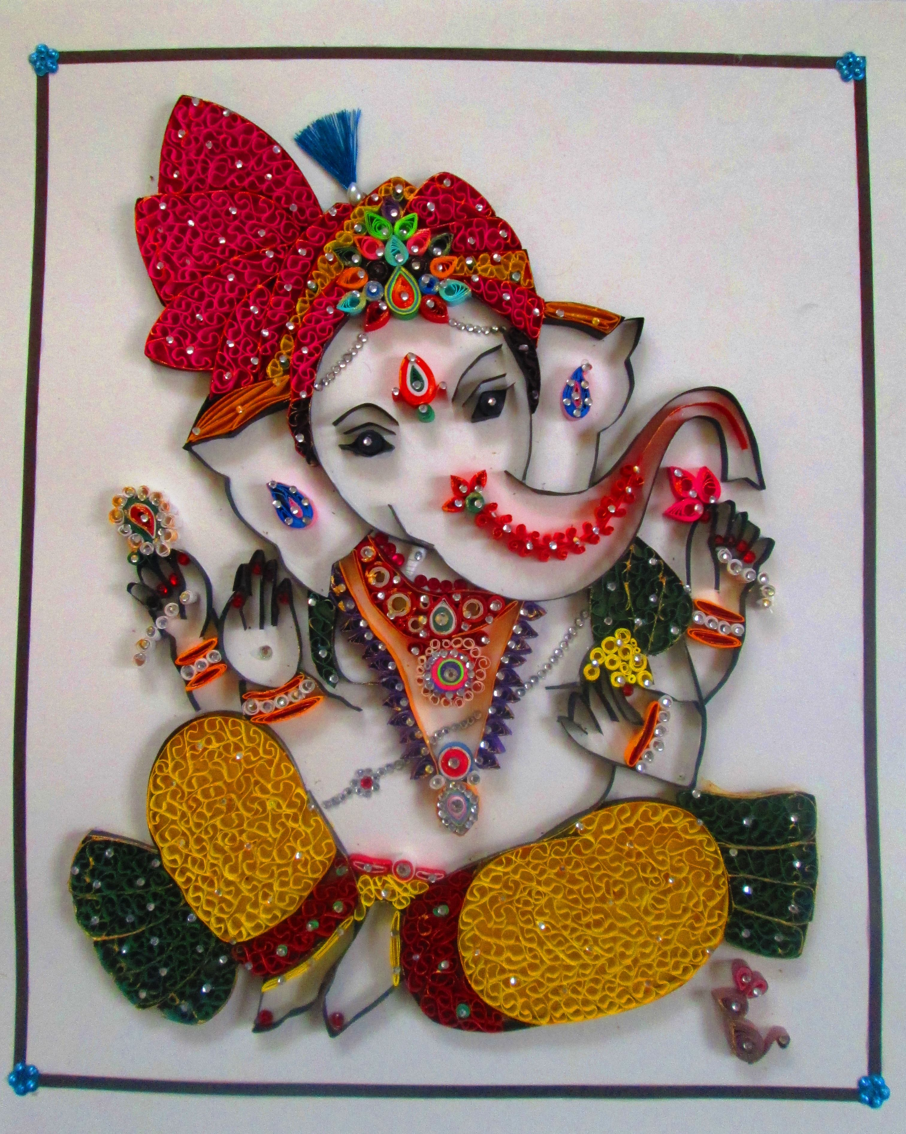 Lord Ganesha   Paper Quilling   Pinterest   Quilling ...