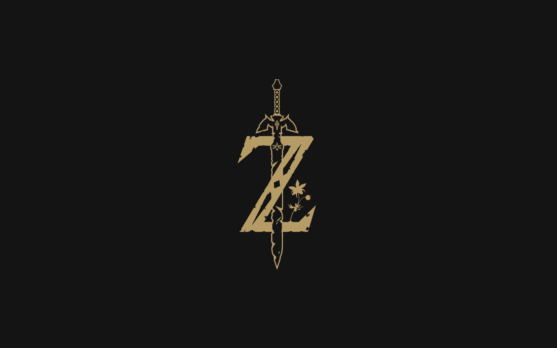 zelda logo hd wallpaper from gallsourcecom
