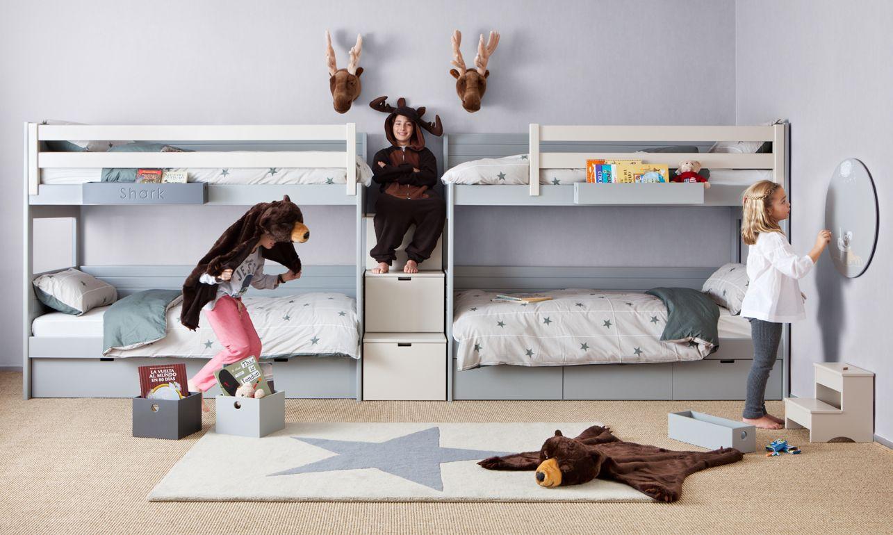 Ideas De Habitaci N Infantil Originales Modernas Y Divertidas  # Muebles Un Kuarto