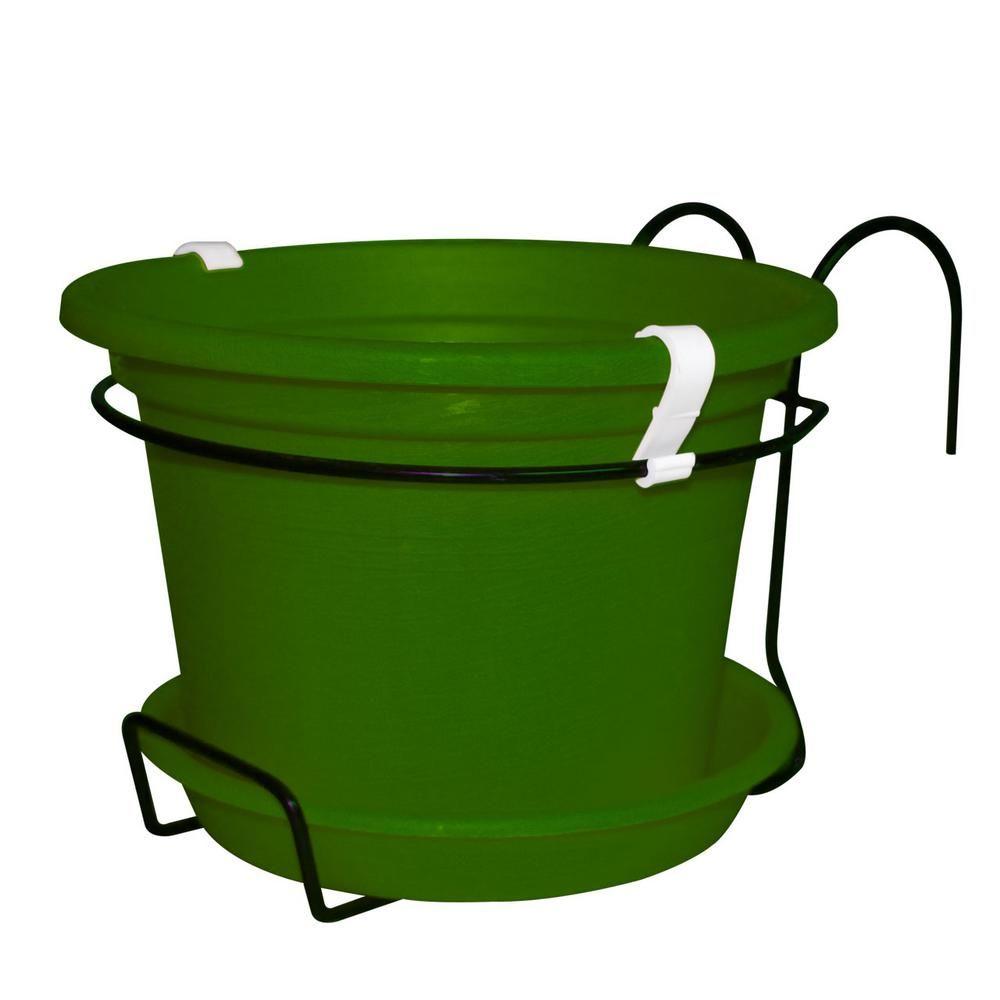 Kit For Gefen Flower Pot Dark Green Plastic Pot 031921003 Plastic Pots Flower Pots Flowers