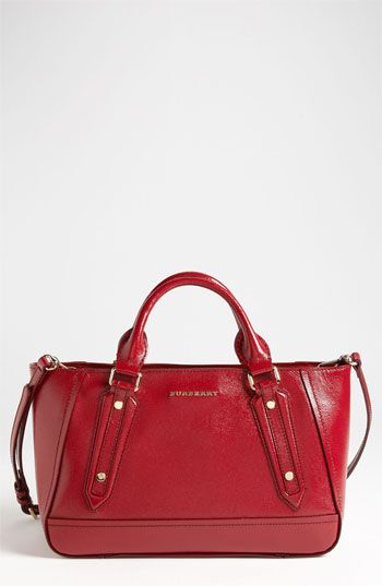 Love the red!! Burberry  Ladies London  Leather Tote available at  Nordstrom 9a2a2592015a2