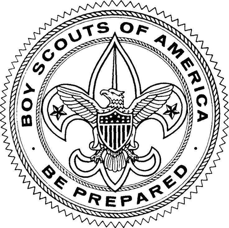 Image result for original logo of the boy scouts