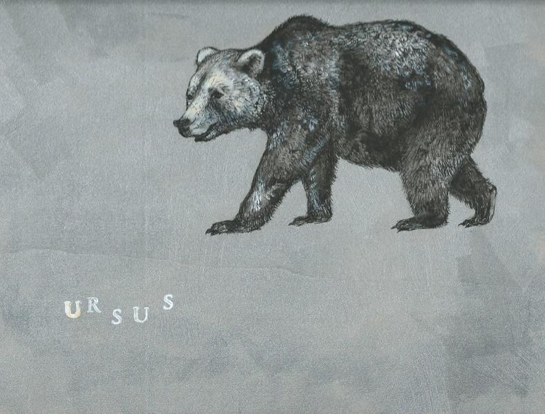 """""""Der Bär"""" Unikat von Marion Ruhrberg / auf meine ART... auf DaWanda.com"""