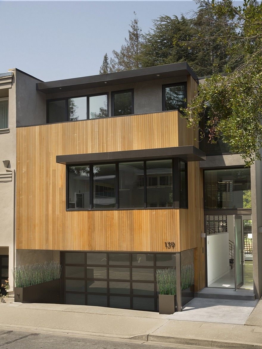 Radical Remodel of an Eichler-Era Townhouse / John Lum Architecture – Exterior