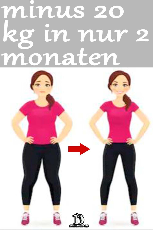 In 5 Monaten 20 Kg Abnehmen