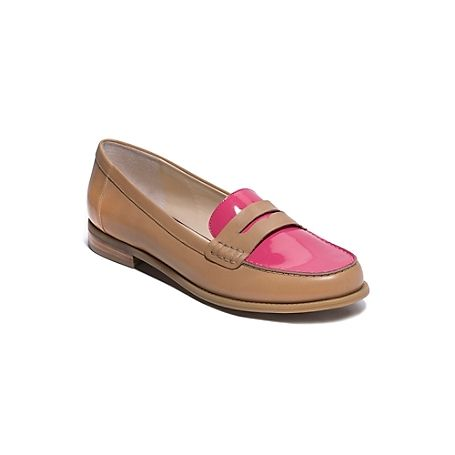 7980297ac73a Tommy Hilfiger women 39 s shoe. The iconic penny loafer (the shoe every  preppy girl must own) updated with an eye-catching nbsp nbsp colorblock  design and ...