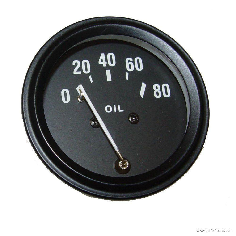 hight resolution of oil gauge 48 67 willys cj2a cj3a jeep cj3b