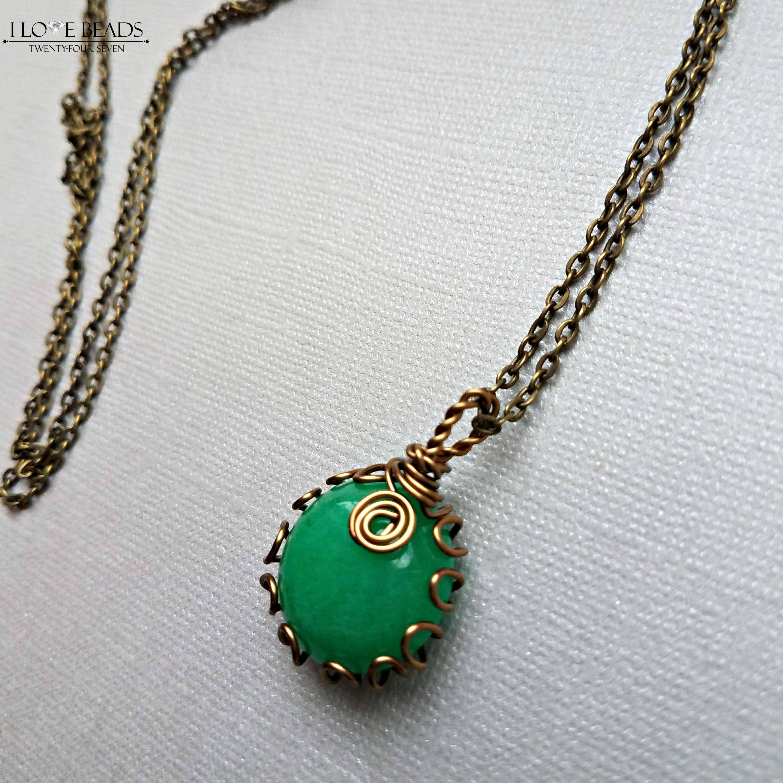 pendant click chain solid rh expand massive cable to chrome full necklace and chalcedony item