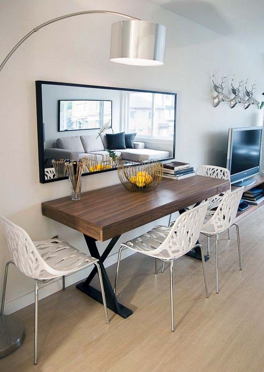 Best 15 Narrow Dining Tables For Small Spaces Gallery Ideas Bench