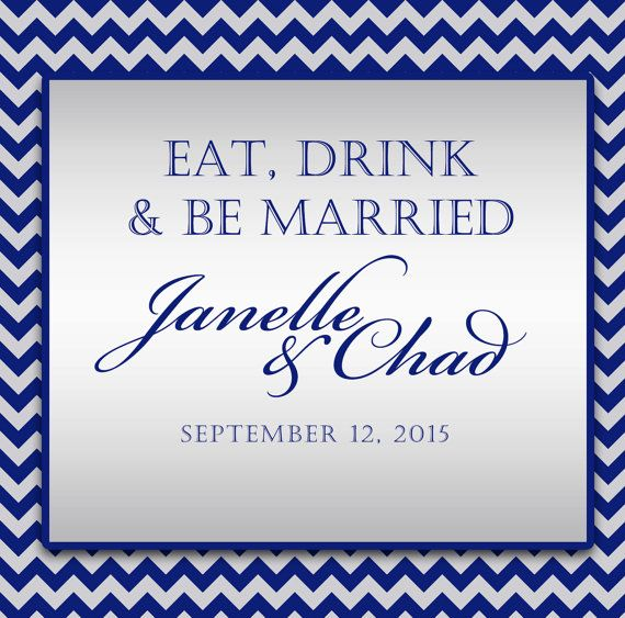 $15 for 20 #wedding #welcomebag #stickylabels in a silver & black chevron design by http://www.bestwelcomebags.com