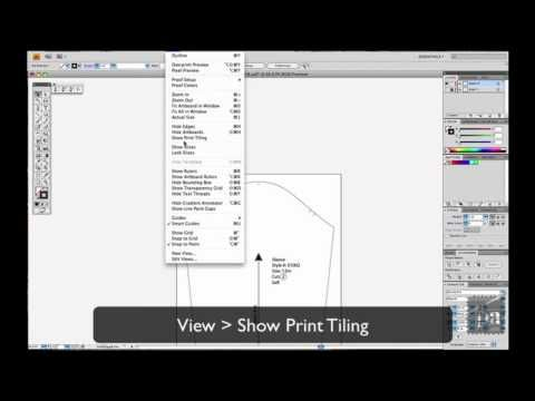 Printing Patterns with Adobe Illustrator