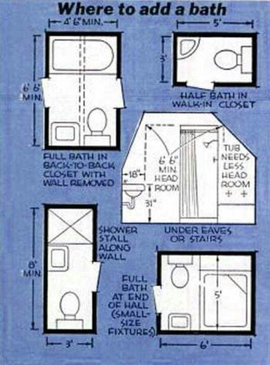 Basement Bathroom Design Layout Bathroom Reno  Home Decor Ideas  Pinterest  Bath House And
