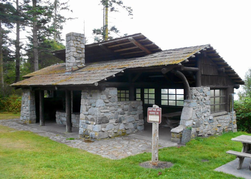 Civilian conservation corps ccc picnic shelter for Washington state park cabins