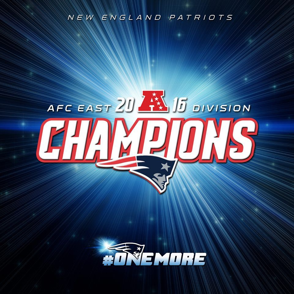 AFC EAST CHAMPS! Patriots win OneMore division title, an