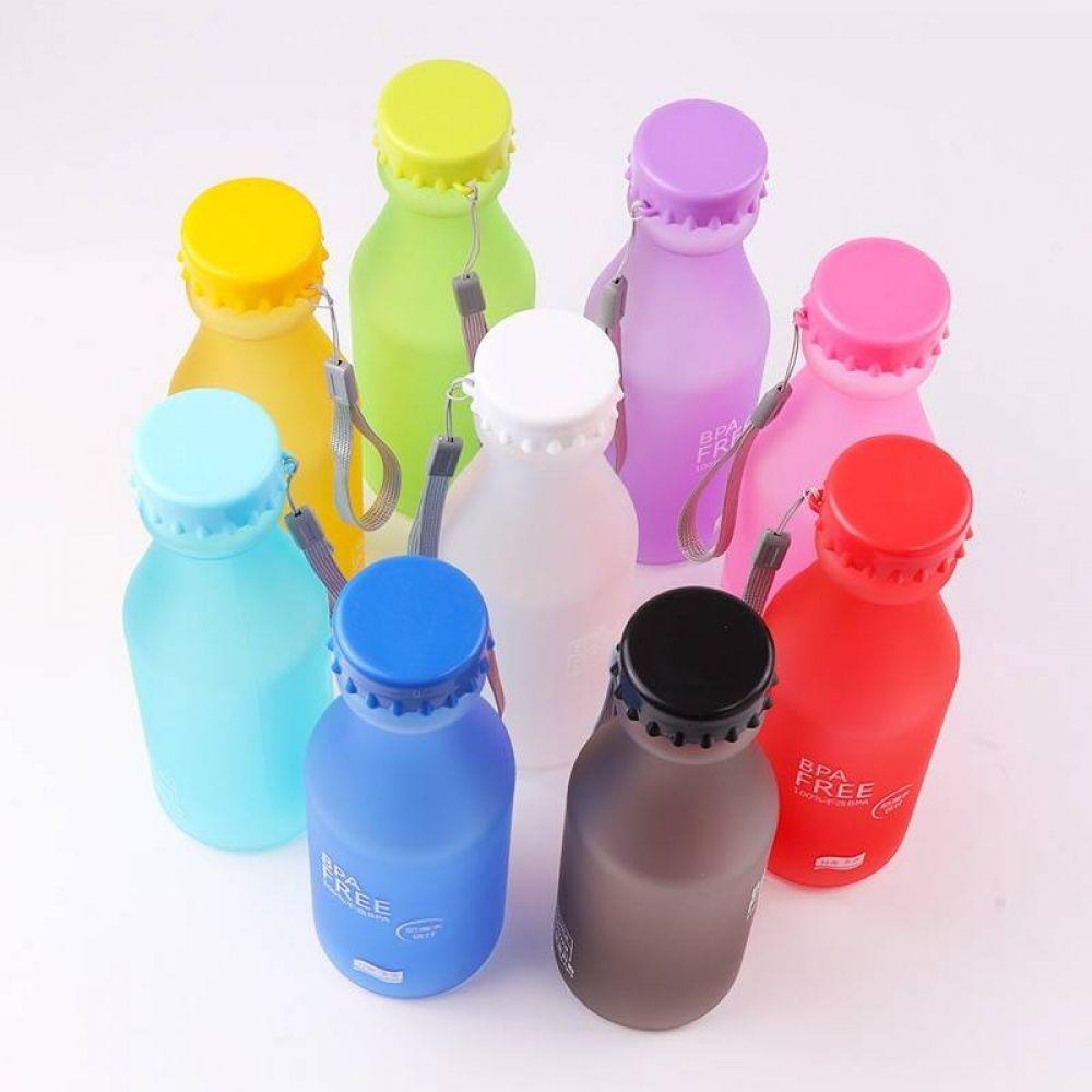Cute Portable Leakproof EcoFriendly Plastic Water Bottle