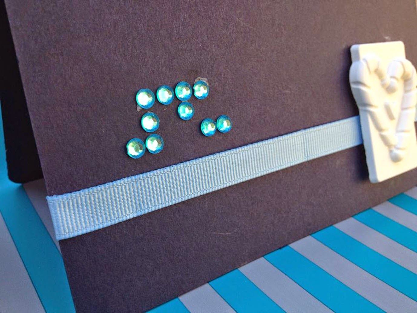 """""""Craft Time: Una card... in braille"""" by Chiara BC - Craft Time"""