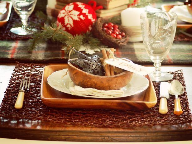 Rustic Winter Table-Setting Ideas & Rustic Winter Table-Setting Ideas | Rustic christmas Table ...