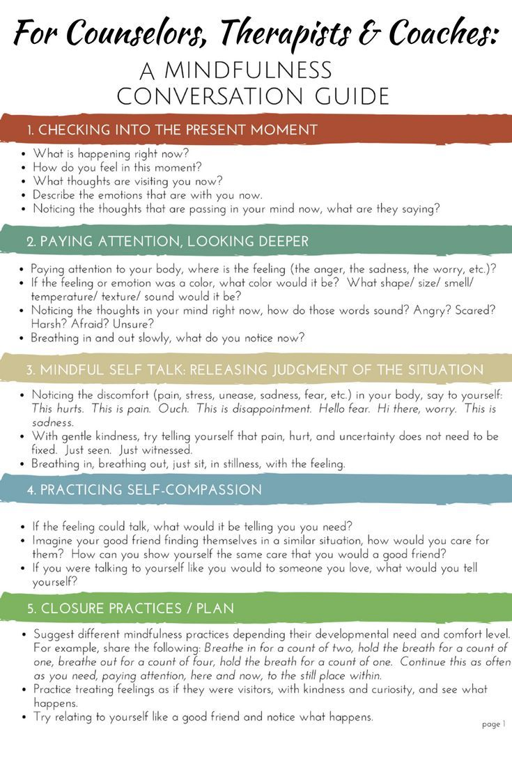 Mindfulness Activities School Counseling Tools for Coping