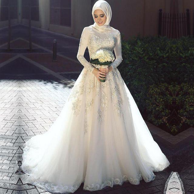 Elegant traditional wedding dresses