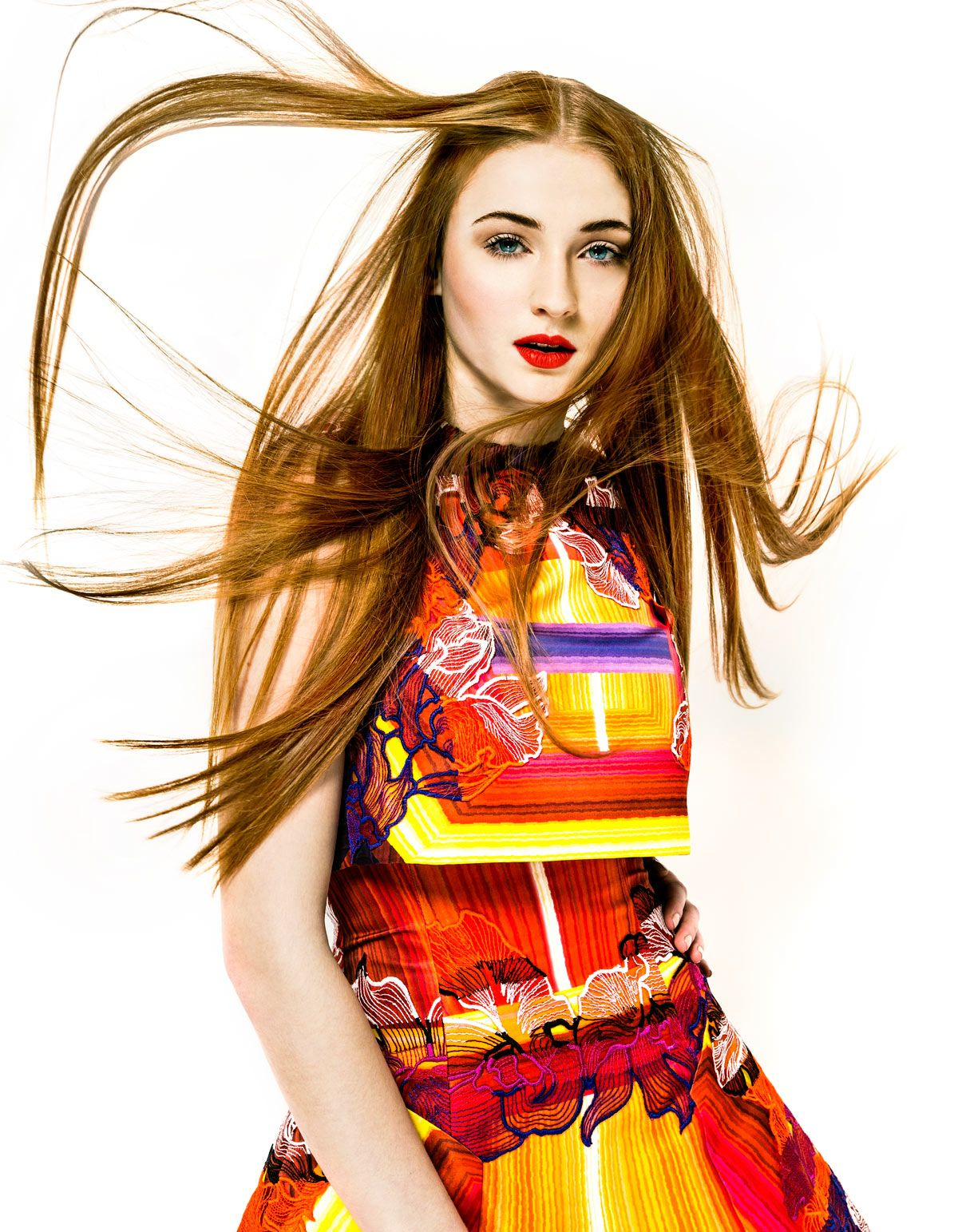 Sophie Turner - You Magazine March 2014