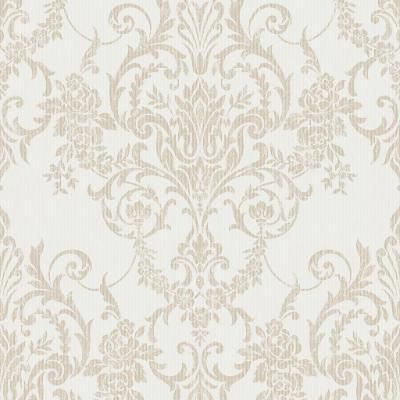 Graham & Brown Venetian Damask Vinyl Strippable Roll (Covers 56 sq. ft.)-104965 - The Home Depot