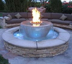 The Standout Fire Pit A Matter Of Materials Outdoor Fire Backyard Fire Backyard Seating Area