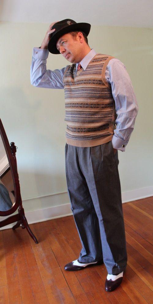 1940s Men's Fashion Clothing Styles   Mens fashion dress ...