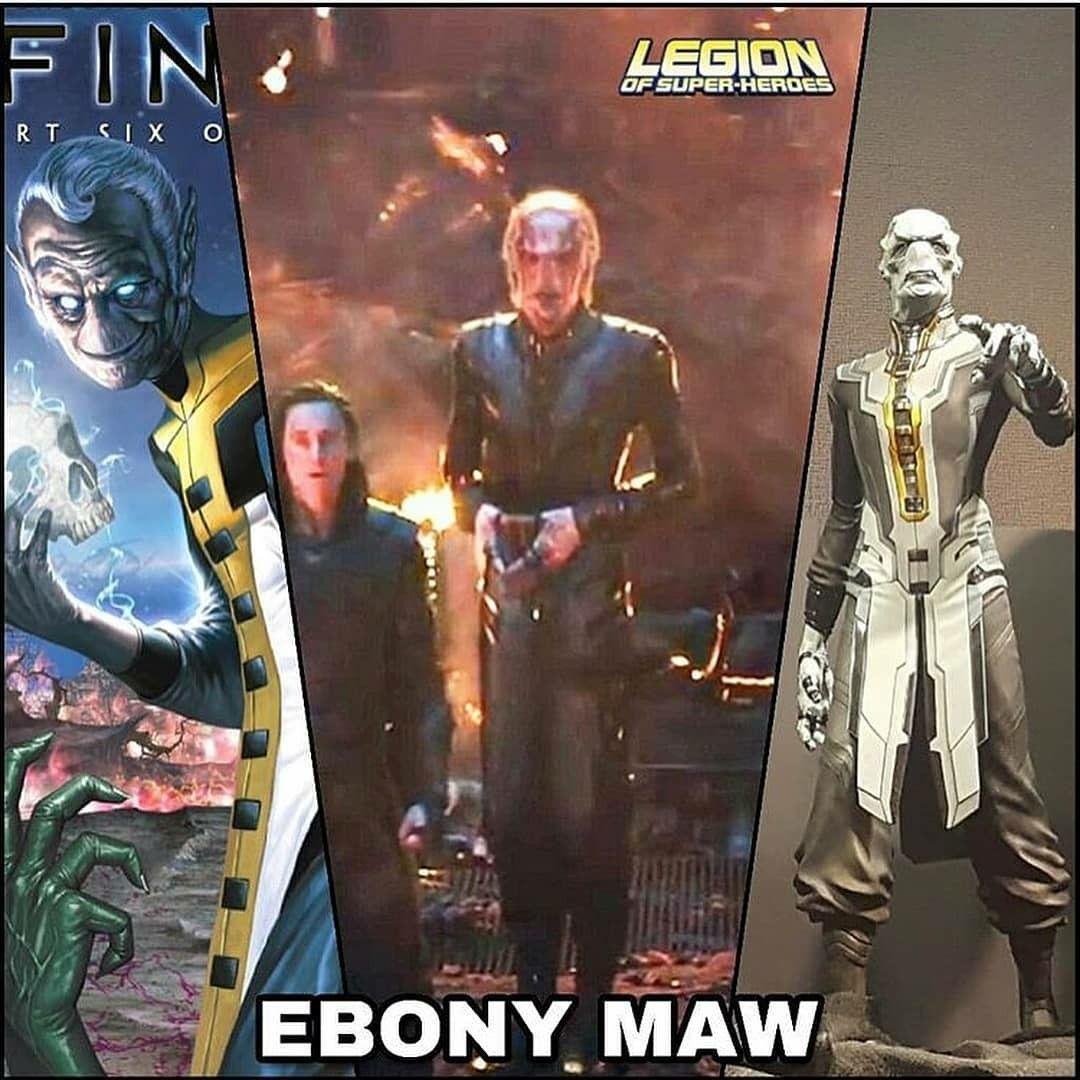 ebony maw:the supervillains of avengers infinity war | marvel