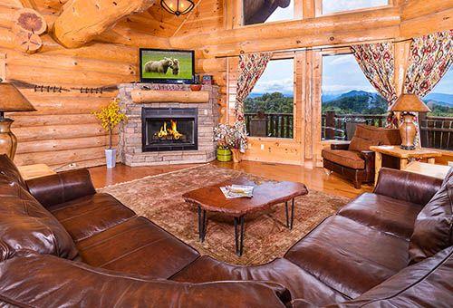 Gatlinburg Cabins Pigeon Forge Cabins 3 5 bedroom cabins