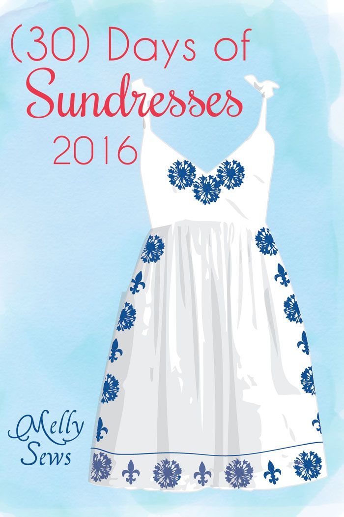 30) Days of Sundresses 2016 | 30th, Tutorials and Giveaway