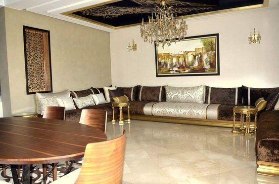 Salon Séjour Marocain 2018 الصالون المغربي العصري #Expert #Decorator # Décoration #salon #