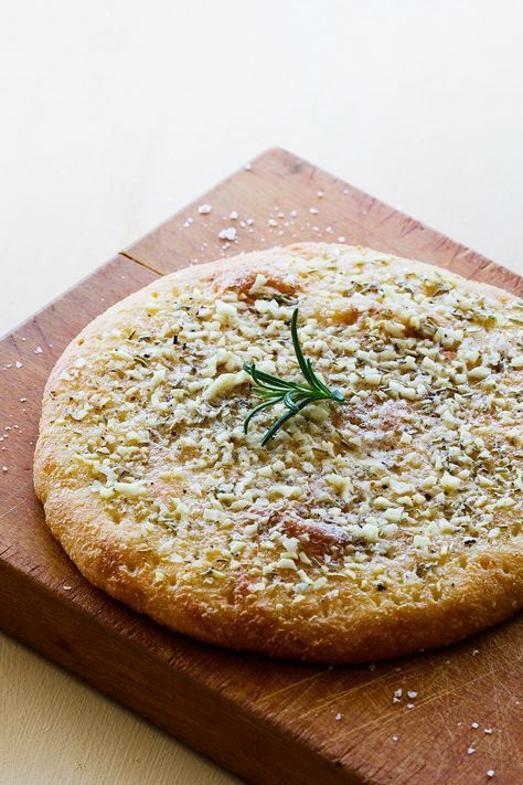 Keto Garlic and Rosemary Focaccia — Recipe — Diet Doctor