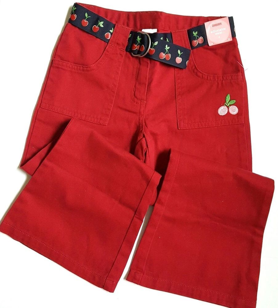 3 3t Gymboree Mountain Cabin Holiday Red Plaid Skort Skirt Clothing, Shoes & Accessories