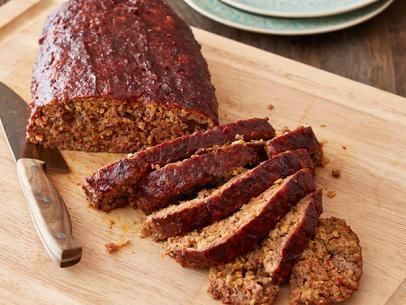 Meatloaf with tomato gravy recipe meatloaf meatloaf recipes and food smoked party meatloaf recipe alton brown food network forumfinder Image collections