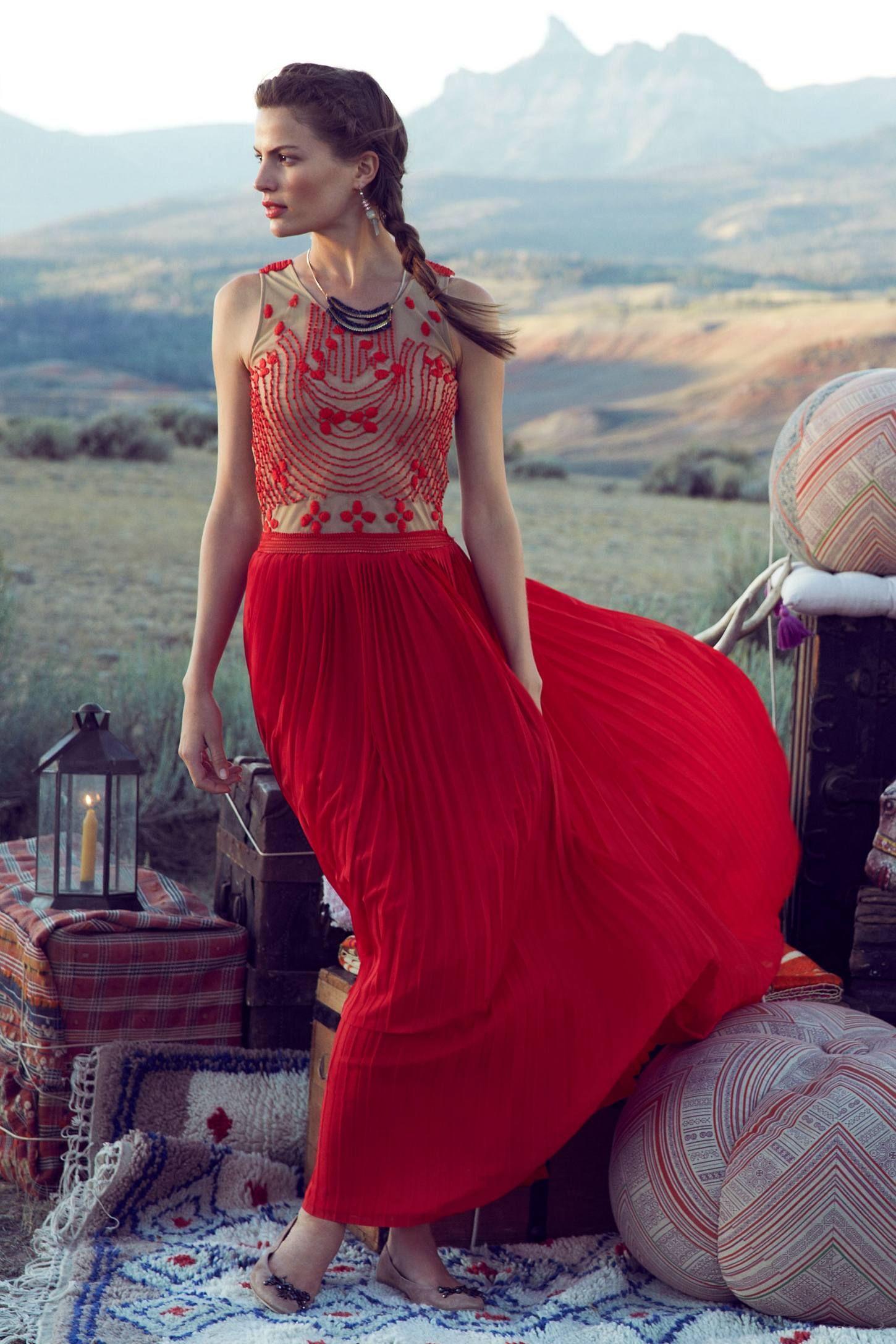 Rubied dusk dress vogue pinterest dusk anthropologie and clothes