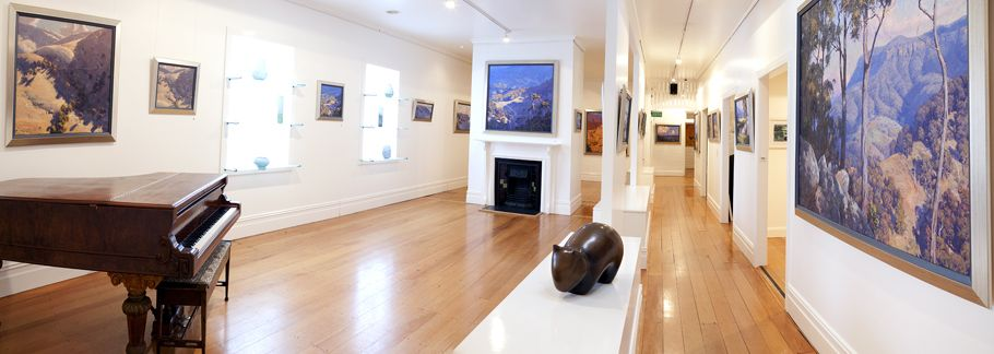 Lost Bear Gallery - Fine Art Gallery in the Blue Mountains - Home - WARWICK FULLER distributor.