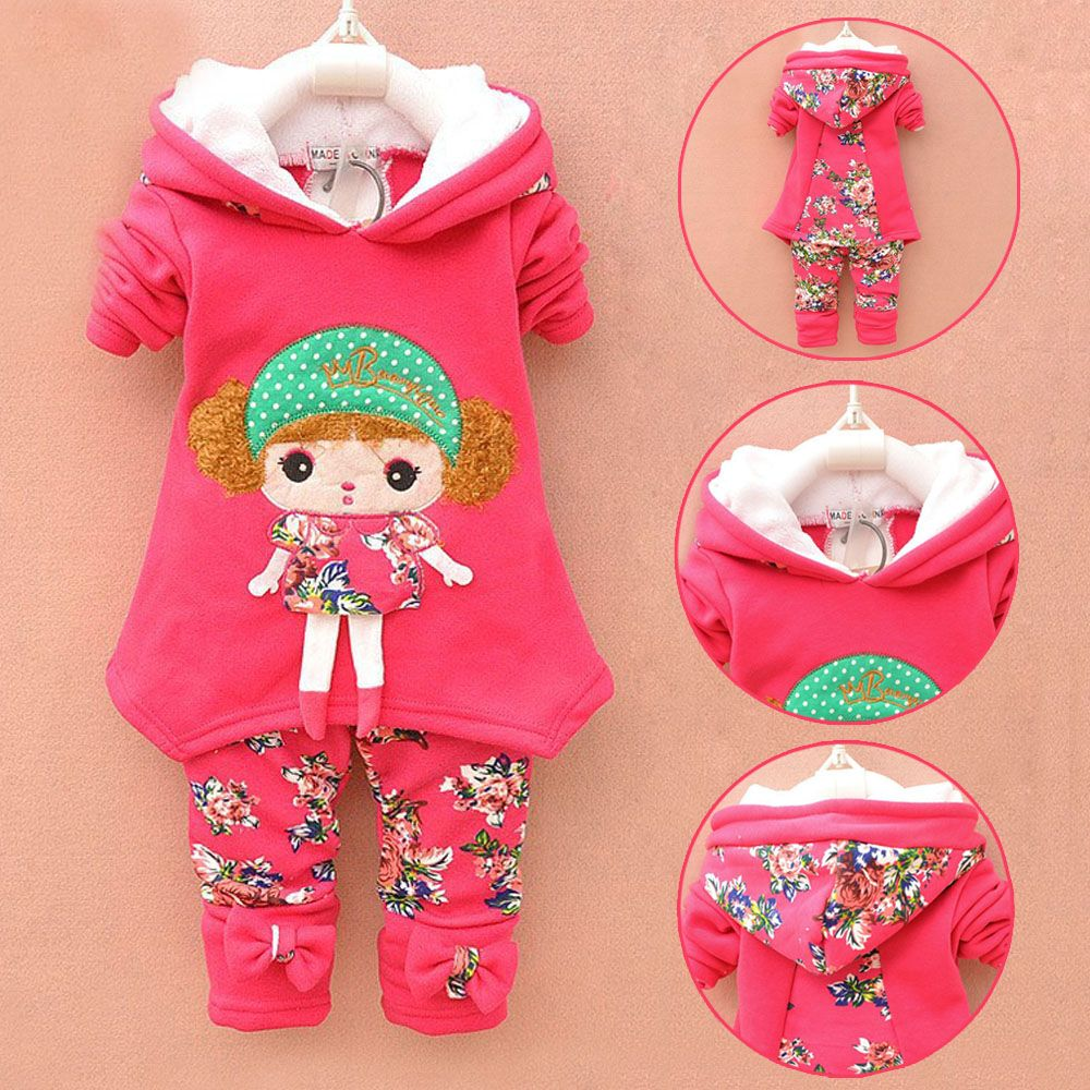 BibiCola baby girls warm winter suit thicken clothing sets children's hoodies set  kids clothes set children christmas outfit //Price: $29.18 & FREE Shipping //     #toddlers