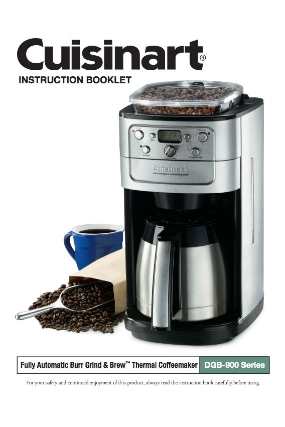 Pin On Cuisinart Coffeemaker Manuals