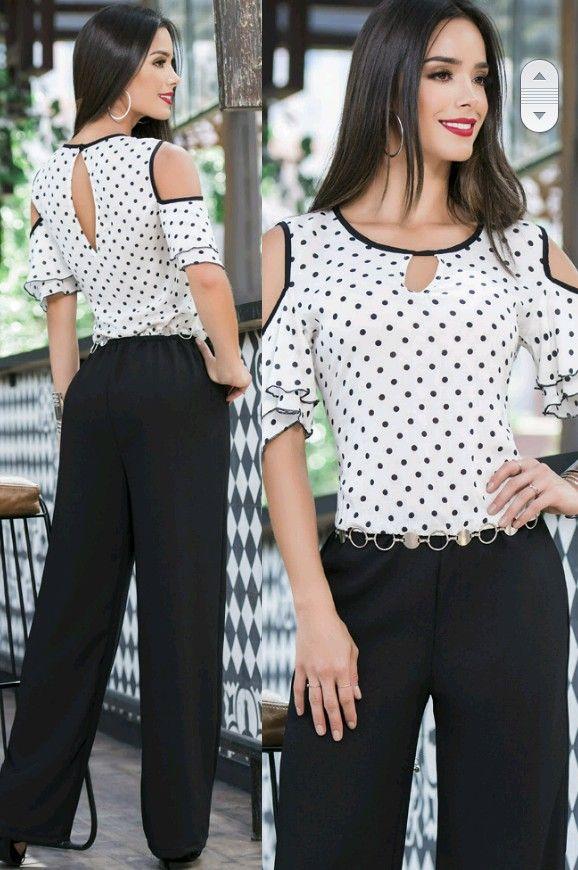 1757e4bcd Blusas | Patrones de blusa | Blusas, Blusas juveniles moda e Ropa de ...