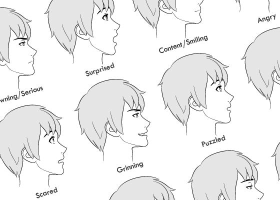 How To Draw Anime Manga Tutorials Animeoutline In 2020 Anime Drawings Manga Tutorial Anime Male Face