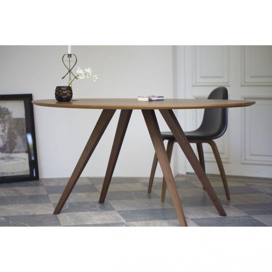 loretta tisch in nussbaum esstisch pinterest runder esstisch esstische und einrichten und. Black Bedroom Furniture Sets. Home Design Ideas