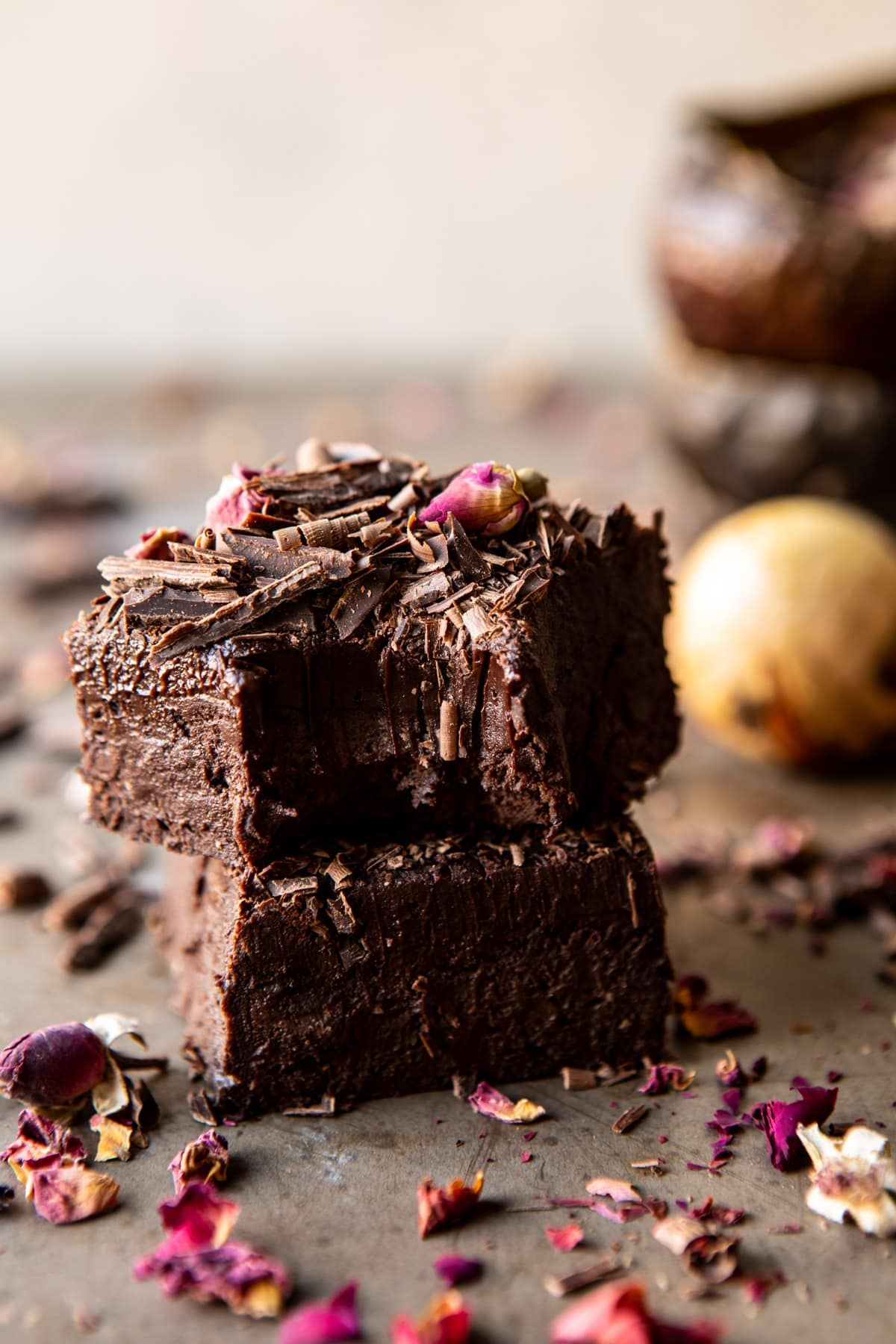 Fudgy Avocado Brownies with Chocolate Fudge Frosting. Trust me, these are SO GOOD, and extra chocol